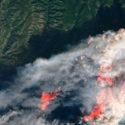 Camp Fire Satellite View